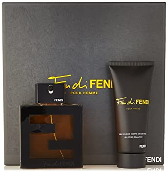 8e20adcc55c Amazon.com   Fendi Fan Di 2 Piece Gift Set for Men (Eau de Toilette Spray  Plus Shampoo)   Fragrance Sets   Beauty