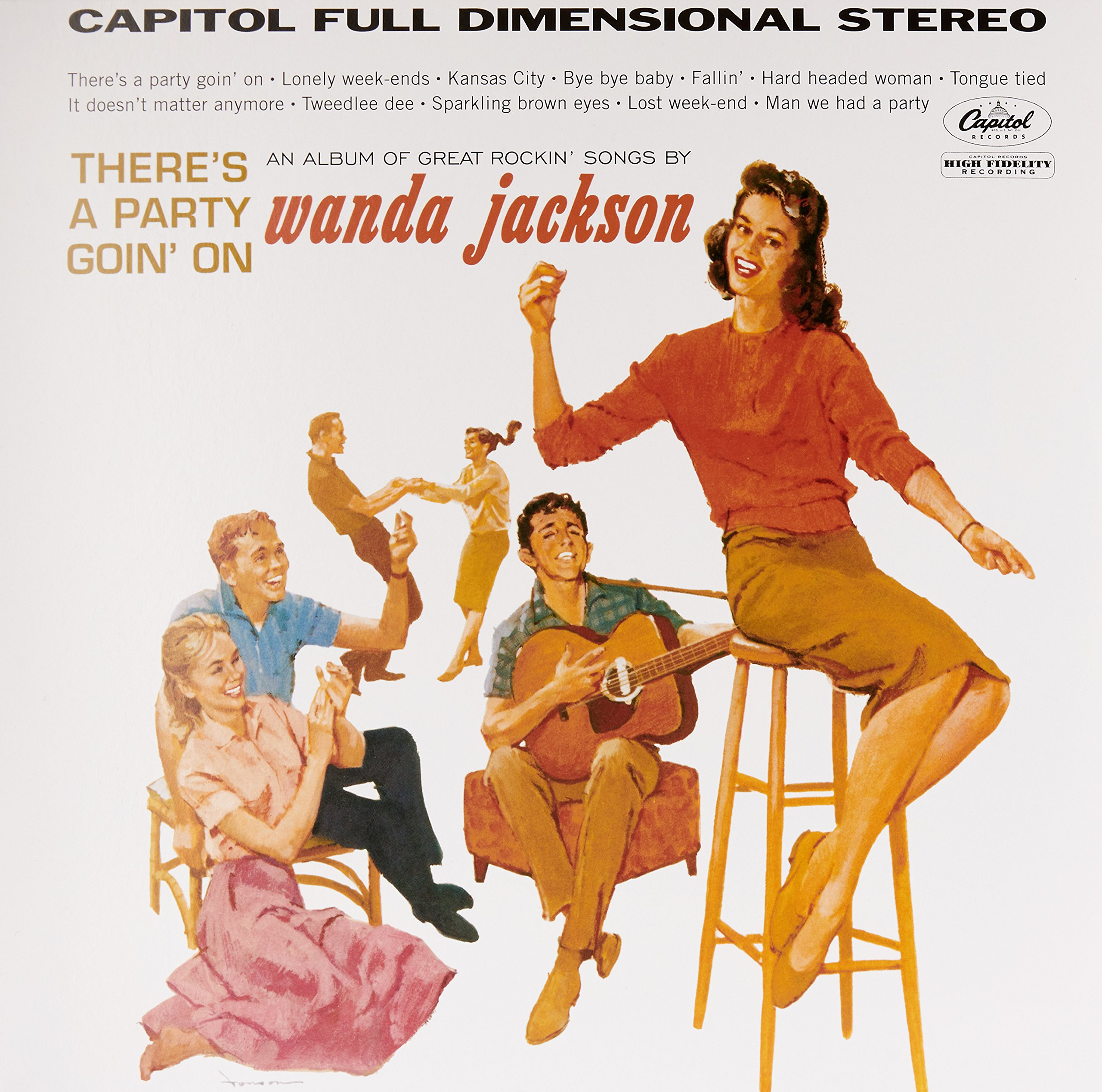 Wanda Jackson - There\'s A Party Goin\' On (LP Vinyl)