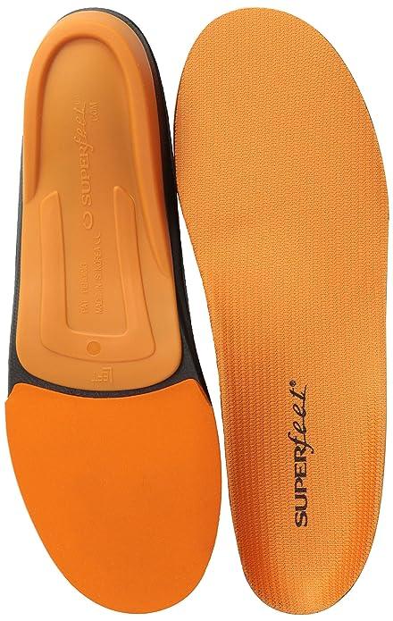 Superfeet Orange Premium - Plantilla para zapatos unisex, color naranja, C (37-38.5 EU)