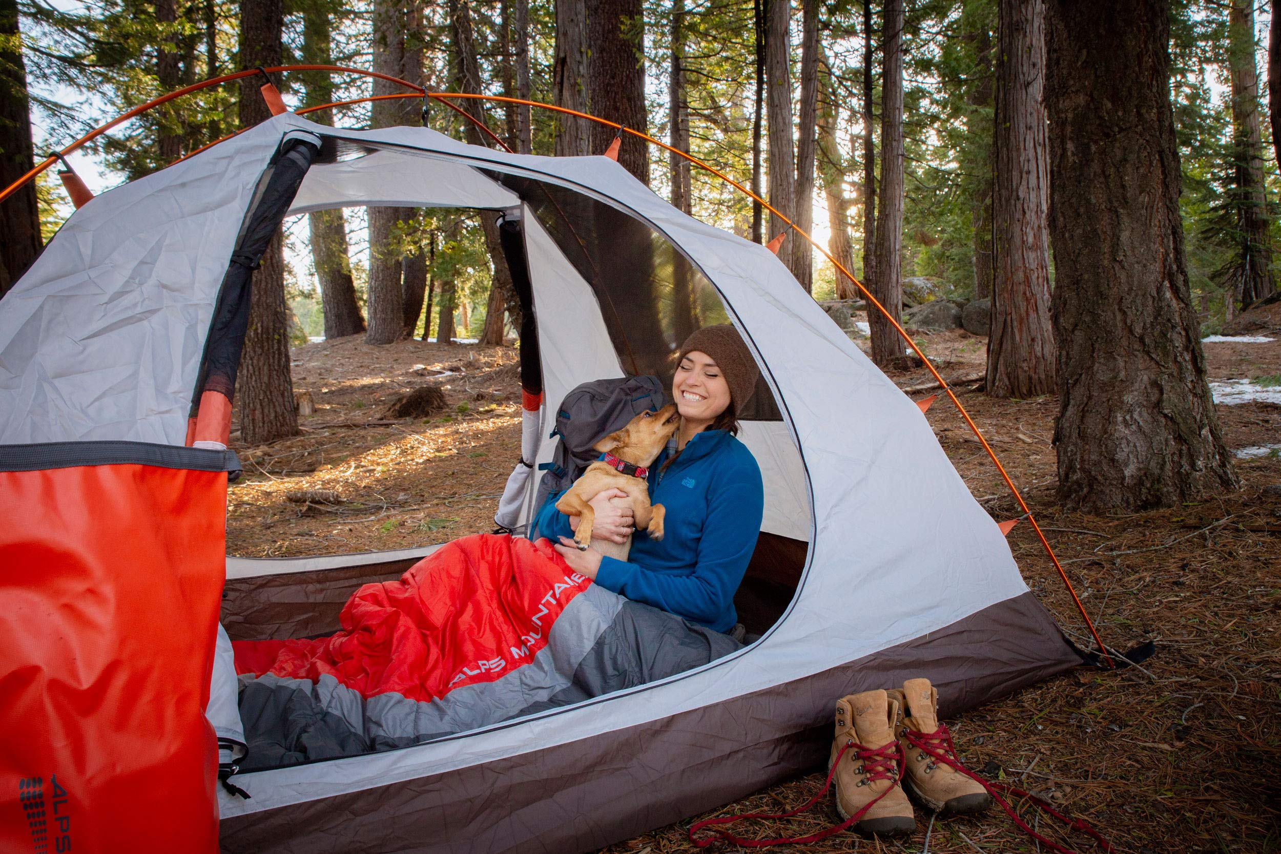 ALPS Mountaineering Lynx 4-Person Tent, Clay/Rust by ALPS Mountaineering (Image #10)