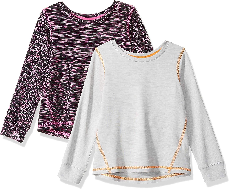 Essentials Girls 2-Pack Long-Sleeve Active Tee