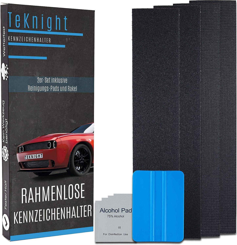 2x Top Qualität Klettband Für Kennzeichenhalter Nummernschildhalter 52x11cm 52