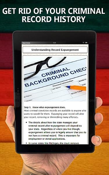 Get Rid Of Ciminal Records - DIY Expunge Criminal Records:Amazon