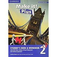 Make it! Plus level 2. Student's book-Workbook. Per la Scuola media. Con DVD-ROM. Con e-book. Con espansione online [Lingua inglese]: 1