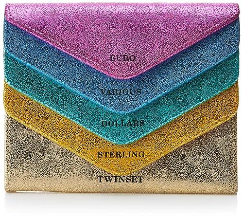 Womens Os8tdn Wallet Multicolour Multicolore (Mul.Laminati) Twin-Set Ac7F4Y