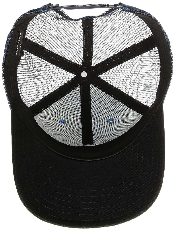 low priced 339ef d3390 Amazon.com  Quiksilver Men s Grounder HAT, Dusk Blue 1SZ  Clothing