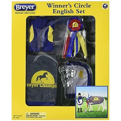 Breyer Traditional Winners' Circle Accessory Toy Set - English