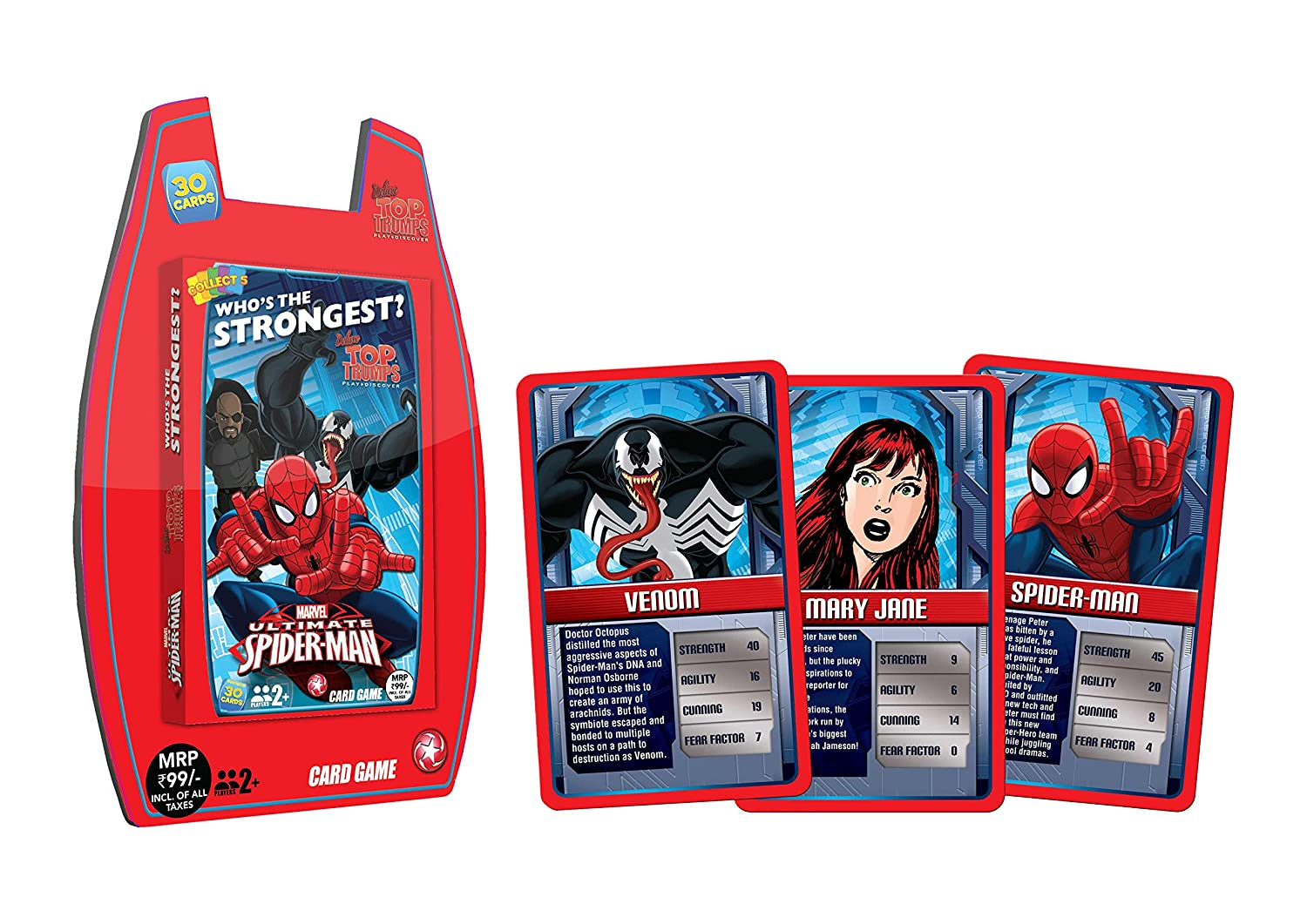 buy top trumps deluxe ultimate spiderman multi color online at