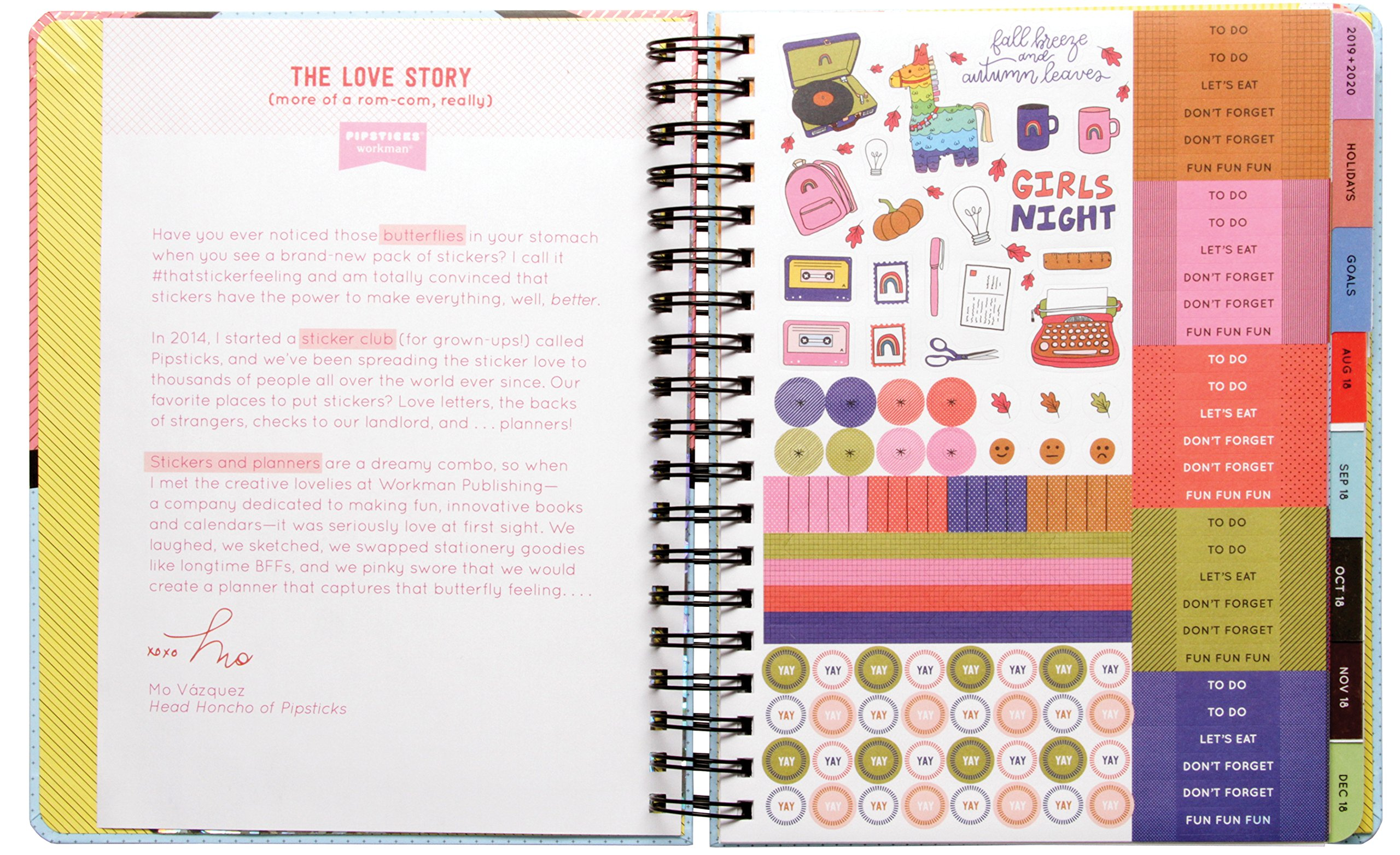 2019 Pipsticks This Changes Everything Planner Pipsticks + ...