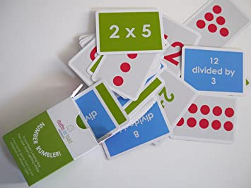 Number Rumbler Fun Family Card Kids Game That Supports Maths And Times Tables