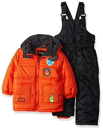 9a2b984013fa Amazon.com  iXtreme Baby Boys Inf Quilted Snowsuit W Patches