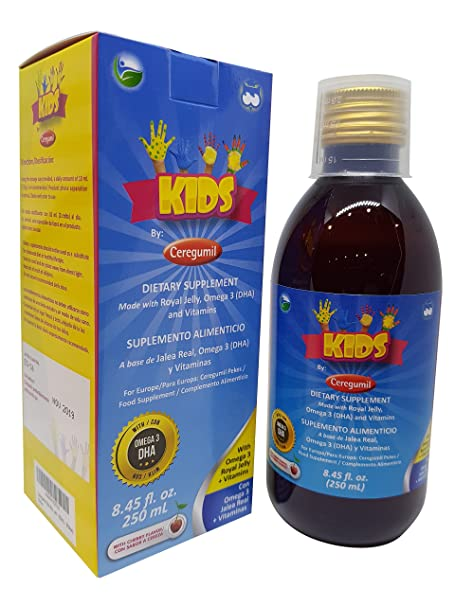 CEREGUMIL 150513.2 Kids (Pekes), Oral Solution, 250 ml: Amazon.es: Salud y cuidado personal