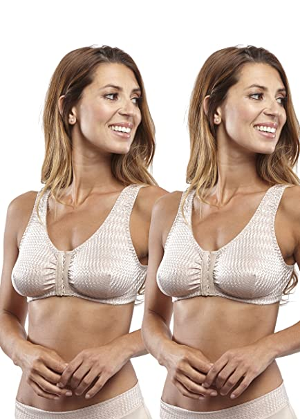 ea21bea7a6 Carole Martin Full-Freedom Comfort Bras - 2 Pack  Amazon.ca ...