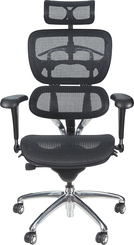 Amazon Com Balt Butterfly Ergonomic Executive Office Chair Blach Mesh High Back 48 51 H X 28 W X 24 D 34729 Black Office Products