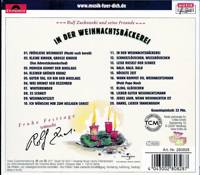 Danke Lieber Tannenbaum Text.Rolf Zuckowski In Der Weihnachtsbäckerei Amazon Com Music