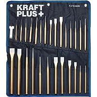 KRAFTPLUS® K.216-5028 Juego de cinceles y botadores