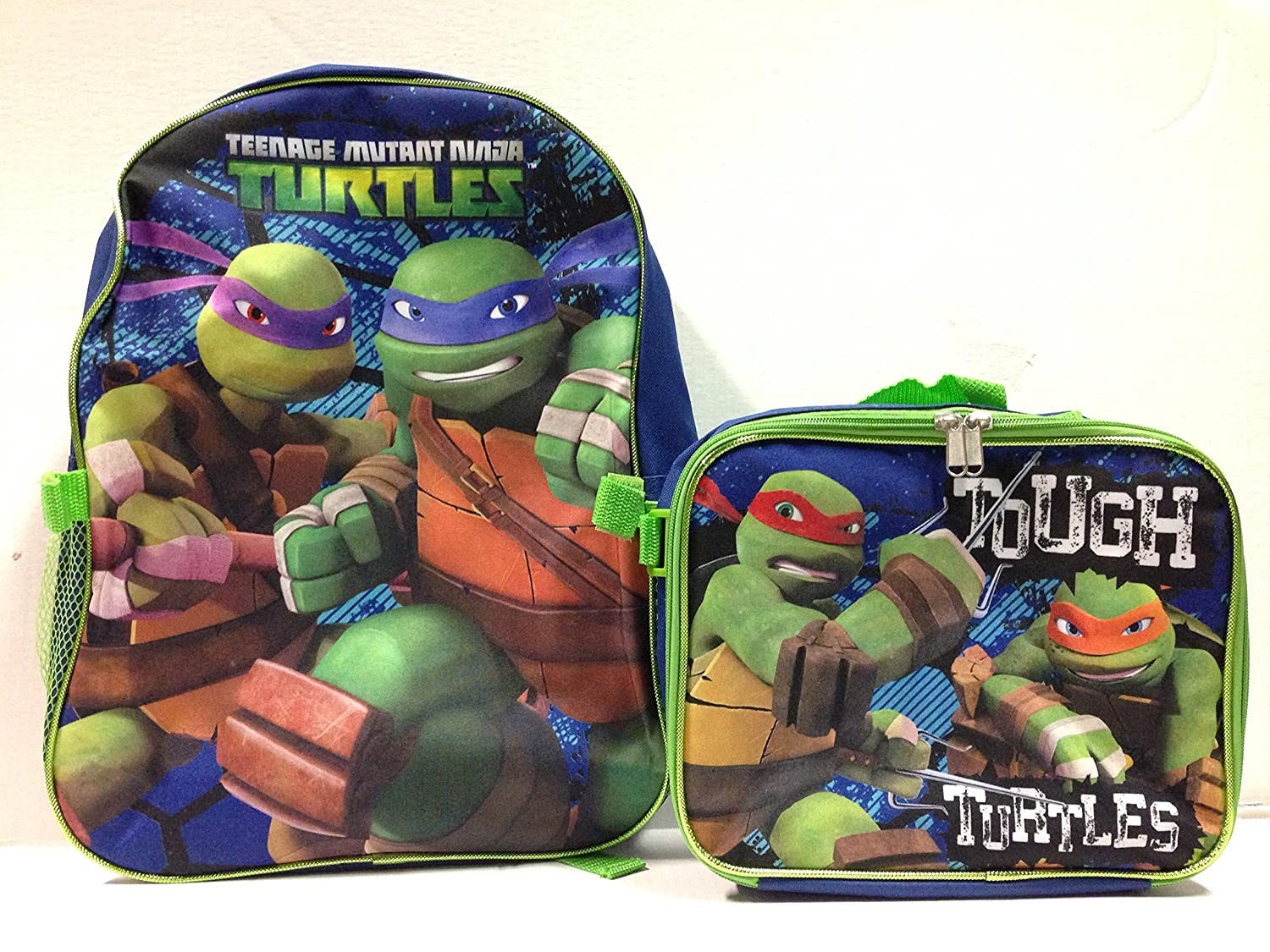 Nickelodeon Ninja Turtles Large Backpack with Lunch Bag Set-5010