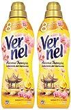 Vernel Weichspüler, Aroma-Therapie Sensual, Weichspüler, 2er Pack (2 x 1 l)