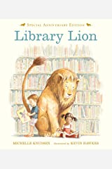 Library Lion Hardcover