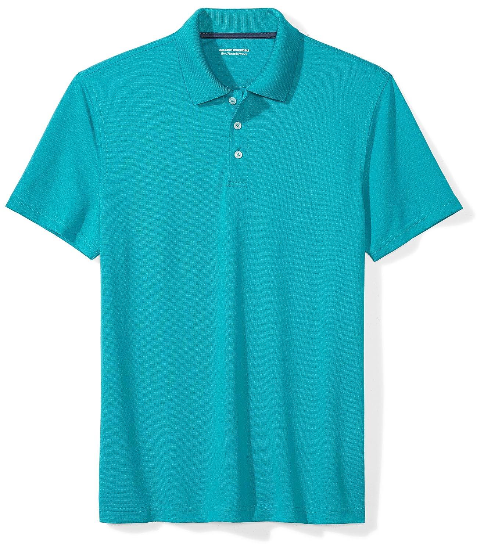 Amazon Amazon Essentials Mens Slim Fit Quick Dry Golf Polo