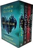 Lauren Oliver Delirium Collection 4 Books Box Set (Delirium, Pandemonium, Requiem, Delirium Stories)