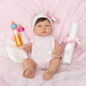 Amazon.es: MARÍA JESÚS Bebe Reborn Muñecas para niñas con VENITAS, rojeces y Peso Especial, Bebes Reborn, Muñecos Reborn con Cuerpo Completo de Vinilo, Hecho 100% en España: Juguetes y juegos