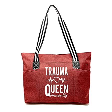 Tote Bags with Pockets for Nurses