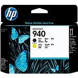 HP 940 Cartouche d'Encre Noir et Jaune Authentique (C4900A)