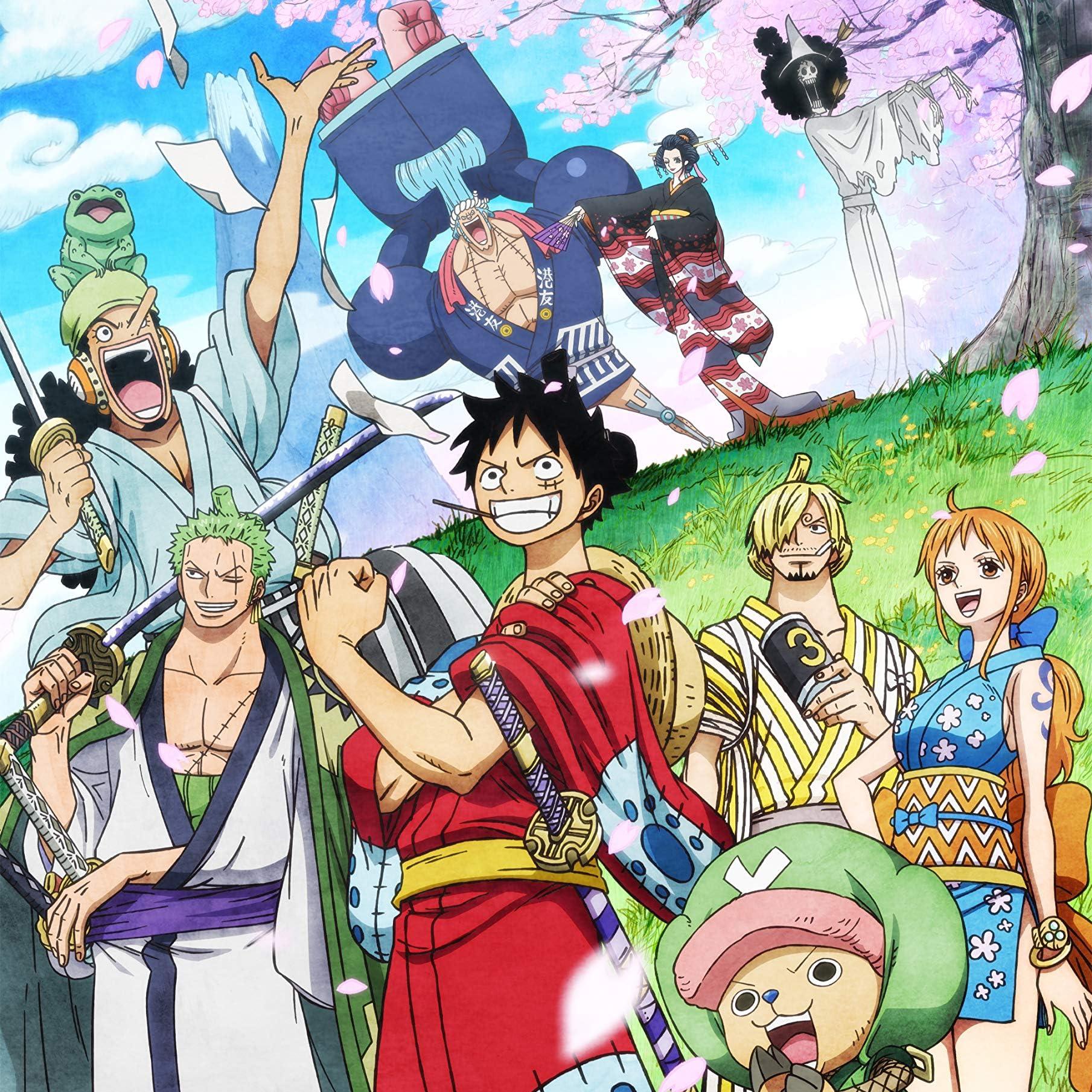 One Piece Ipad壁紙 ワノ国編 ルフィ ゾロ ナミ サンジ チョッパー