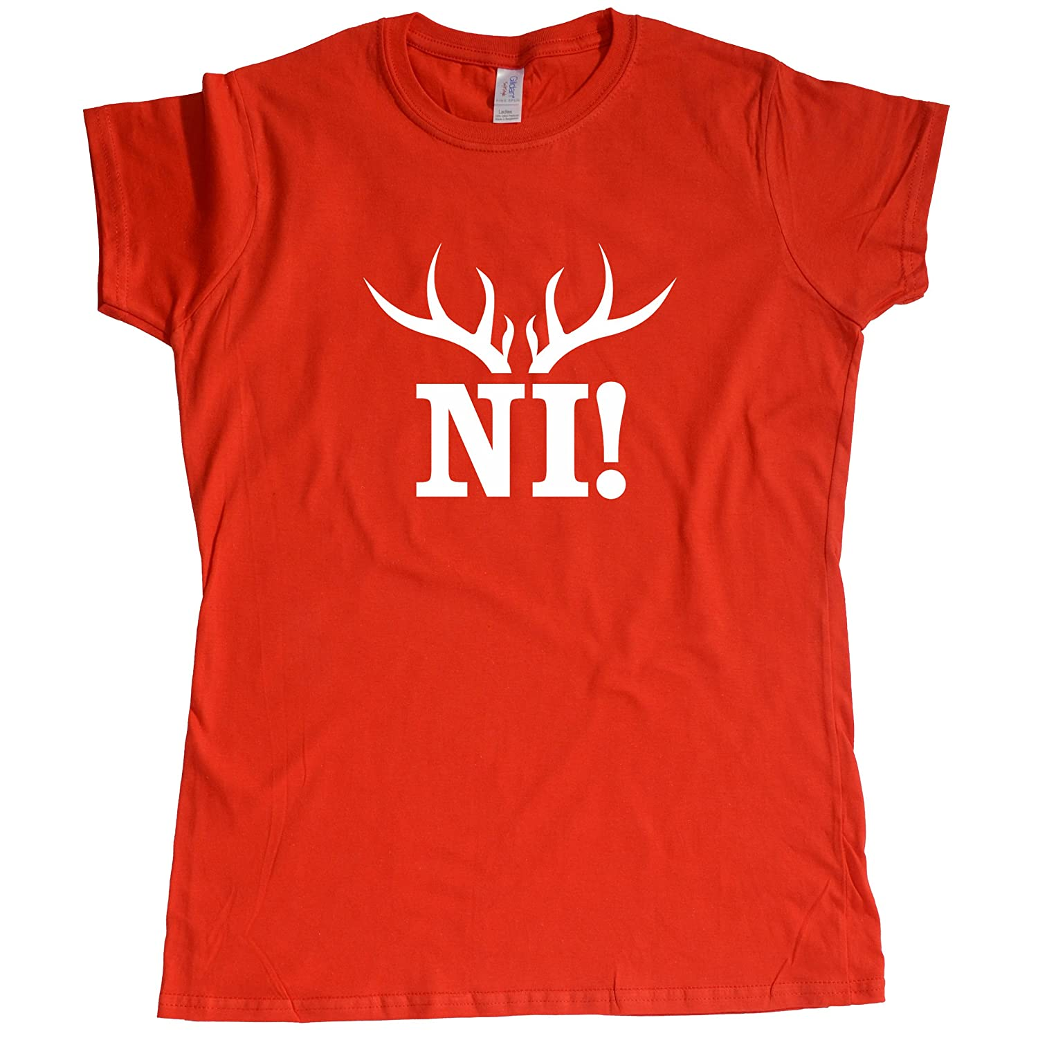 Stooble Womens's Knights Who Say Ni! T-Shirt Stooble - 1ClickPrint