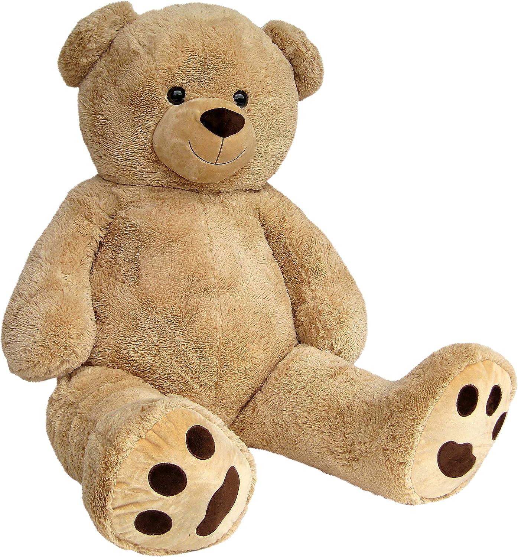Teddy XXL Wagner 9051 - Riesen XXL Teddybär 160 cm groß in hell-braun
