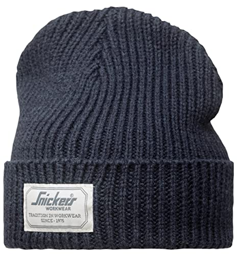 Navy Blue Snickers 90239500000 One Size Allroundwork Fisherman Beanie