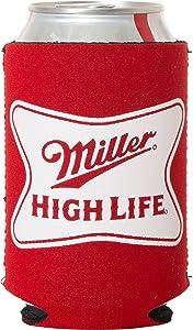 Officially Licensed Miller High Life Can Holder Neoprene Beer Huggie Cooler Sleeve (1)