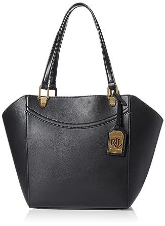 2b10888a38 LAUREN by Ralph Lauren Lexington Shopper Handbag Black  Handbags ...