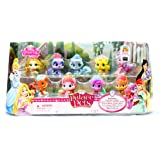 Palace Pets Mini Figure Set of 9 - Slipper, Nuzzles, Sultan, Bloom, Matey, Rouge, Teacup, Summer & Blossom