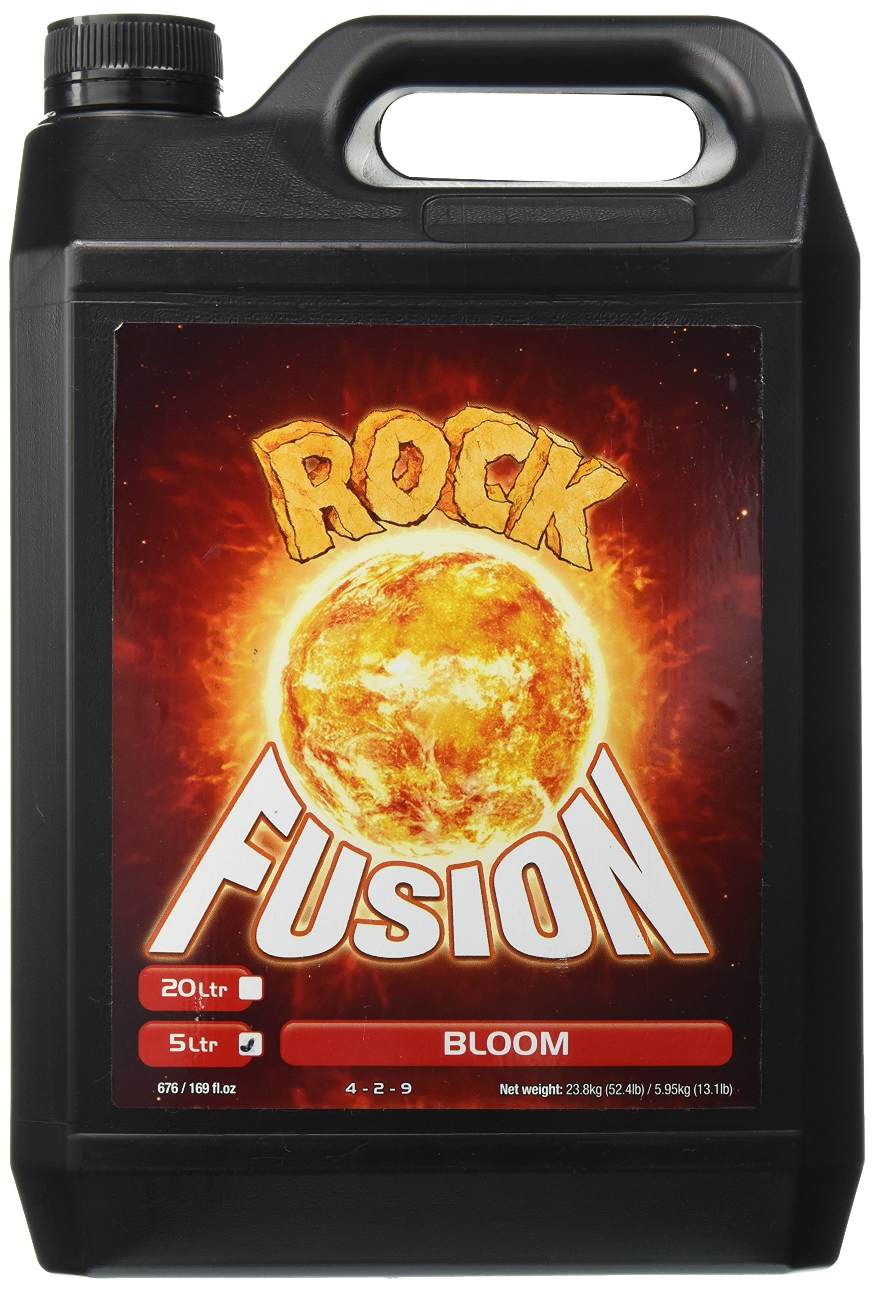 Rock Nutrients GGFBN5L Fusion Bloom Base Nutrient, 5 L