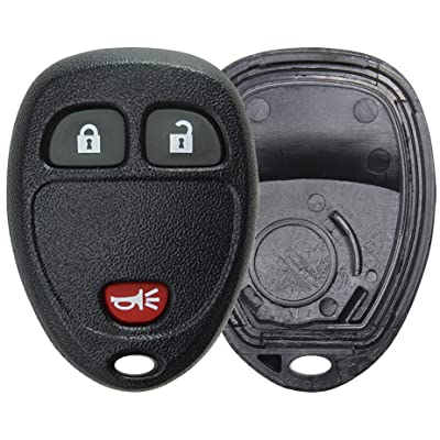 KeylessOption Just the Case Keyless Entry Remote Key Fob Shell: Automotive