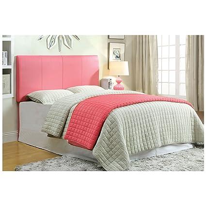 Amazon Com Furniture Of America Iris Leatherette Upholstered