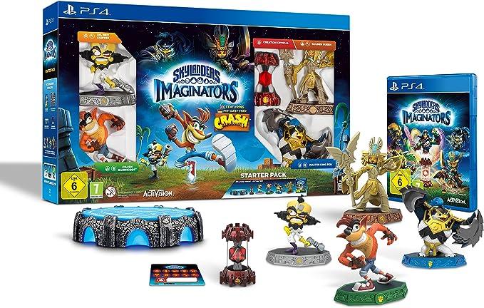 Skylanders Imaginators: Starter Pack - Crash Edition [Importación Alemana]: Amazon.es: Videojuegos
