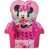 Marshmallow Furniture Children's Foam High Back Chair, Disney's Minnie Mouse High Back Chair