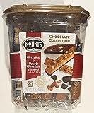 Nonni's Biscotti Gourmet Chocolate Collection, Cioccolati & Double Chocolate Almond (25 count total), 1lb / 15.2oz