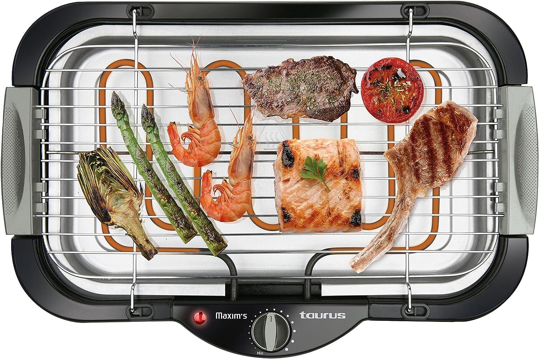 Taurus Maxims Barbecue-Grill Elettrico Black Plastic 2000 W