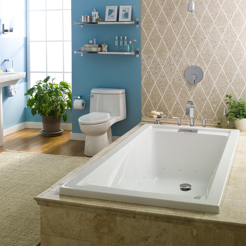 American Standard 7236068C.020 72 Inch by 36 Inch Deep Soak EverClean Air Bath Evolution White