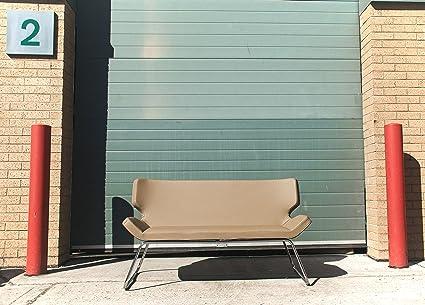 Pelo muebles Seasar la chispa 2 plazas Retro salón sofá ...