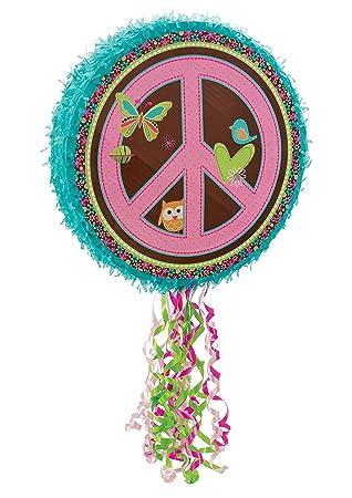 Hippie Chick Pull String Pinata Ya Otta Pinata