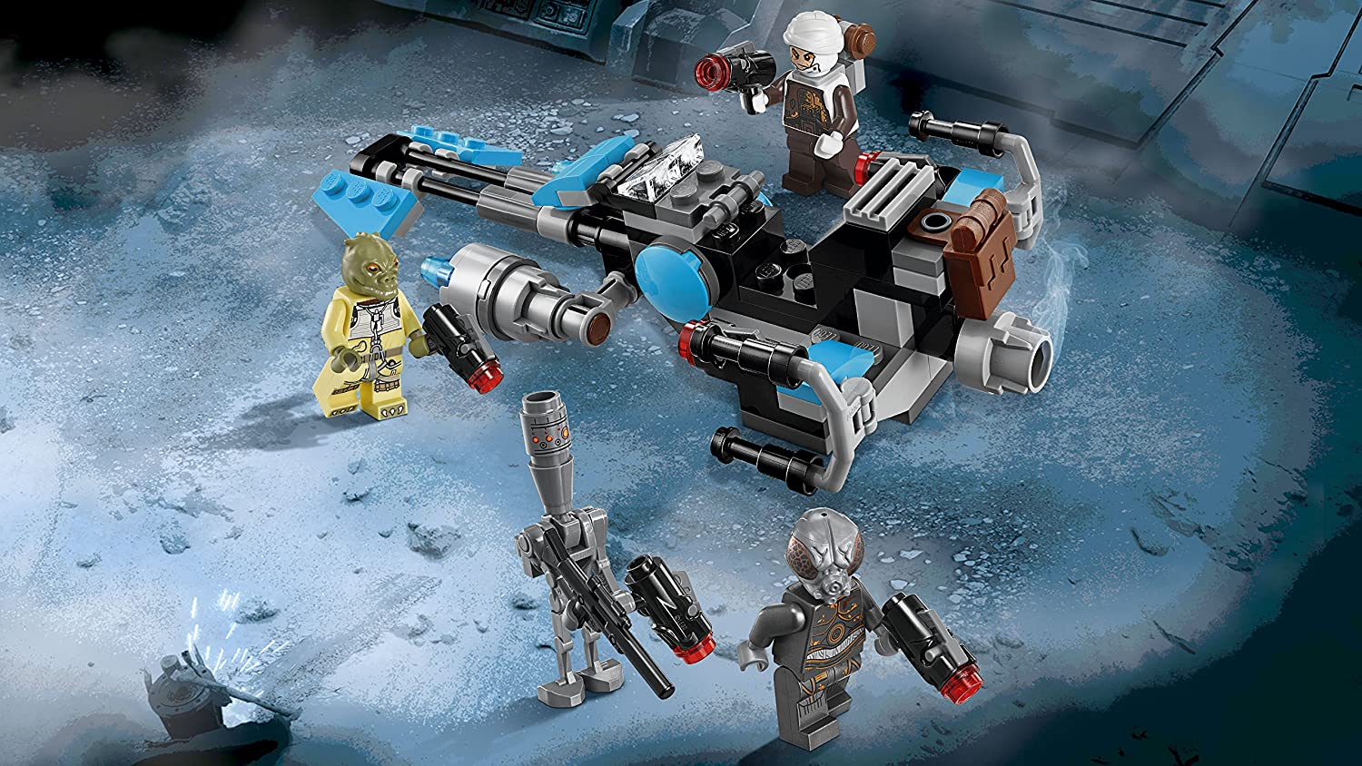 LEGO Star Wars Battle Packs Bounty Hunter Speeder Bike Battle Pack