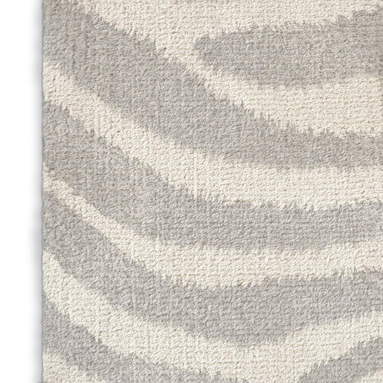 - ESCAPE Collection Size: 3x5x.5 - KAVKA Designs Safari Area Rug, Grey//Ivory MGTAVC2119RUG35