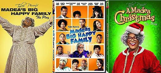 tyler perrys madeas big happy family the play movie with bonus a madea christmas - Madea Christmas Play