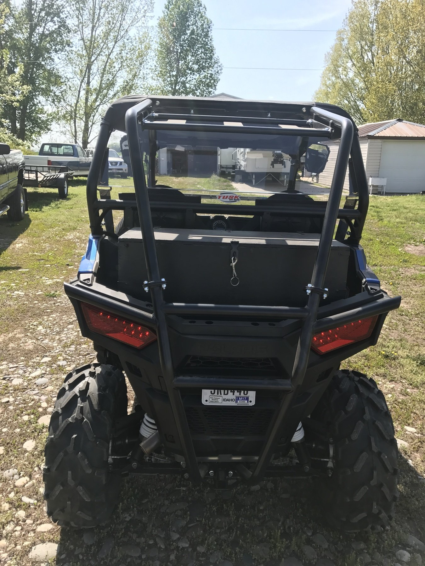 Polaris RZR 1000 XP XP4 Turbo Polycarb Hard Rear Window Windshield- NEW