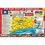 9780635115713 Gallopade Publishing Group Connecticut Flag Poster